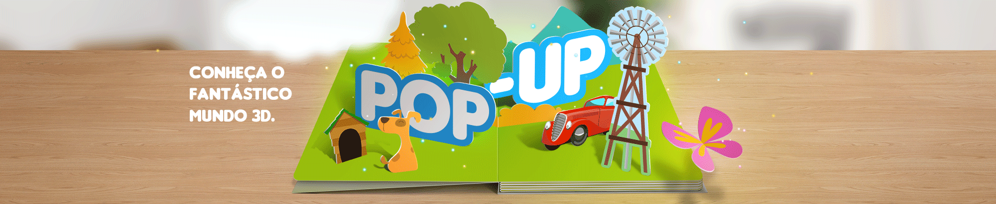 livro infantil 3d pop up
